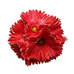 Meide-Group-USA-24-2-ft-Tall-Real-Touch-Latex-Gerbera-Daisy-Artificial-Flowers-for-Home-Decor-Weddings-Improved-Version-5-pcs-Red