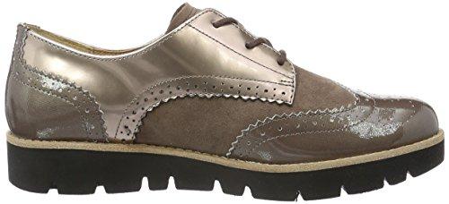 Sport Beige s Femme c S Gabor nude dark Derby Shoes Comfort Exwpnq7A