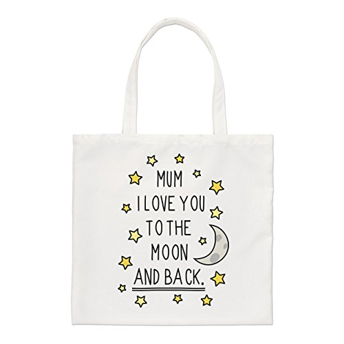 Mum I Back Small The Love Bag And To Tote You Moon rAFrxwdq