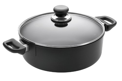 Scanpan Classic 5-Quart Covered Low Sauce Pot
