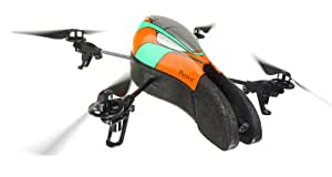 Parrot AR.Drone Quadricopter Controlled by iPod touch, iPhone, iPad, and Android Devices (Orange/Green) (Discontinued by Manufacturer)