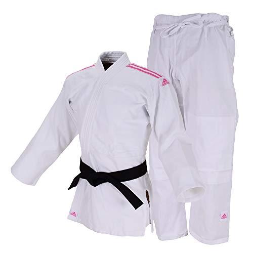 "ADIDAS Judo Uniform ""CLUB"" Sem Cinta  Branco/Rosa 160"