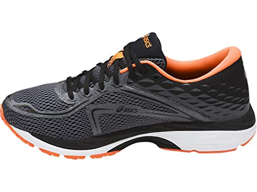 ASICS Mens Gel-Cumulus 19 Running Shoe Carbon/Black/Hot Orange 6.5 Medium US by ASICS (Image #1)