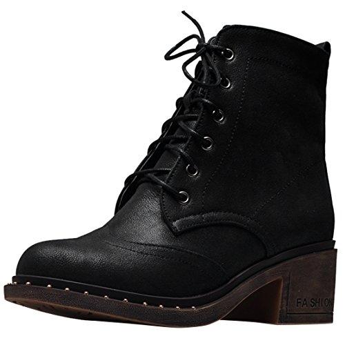 AIYOUMEI Classic Classic AIYOUMEI AIYOUMEI Boot Women's Black Classic Women's AIYOUMEI Black Boot Boot Black Women's CwdnaqB