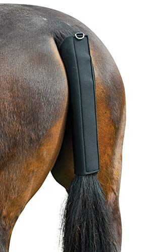 Hunters Saddlery Horse Tail Guard Protector Equine Shield Wrap Non-Slip Breathable Neoprene Equestrian Protection Standard Size - Wrap Tail Neoprene