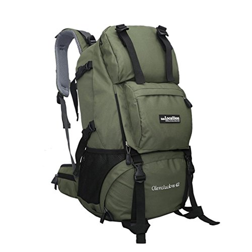 Local Lion Outdoor Sports Hiking Daypack Camping Backpack, Green
