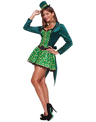 (Forum Sexy Leprechaun Costume, Green,)