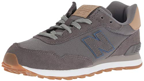 New Balance Boys' 515v1 Sneaker, Castlerock/Hemp, 2 M US Little Kid