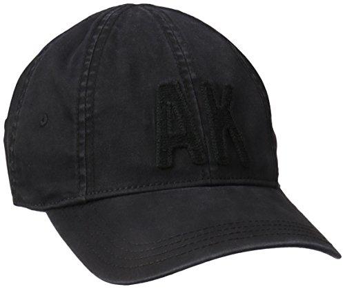 A. Kurtz Men's Eight Panel Flex Cap, Black, One Size ()