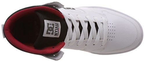 cheap sale store cost cheap online DC Shoes Mens Nyjah High Skateboarding Shoes Blanc (White) outlet limited edition outlet 2014 new eTHsdH3M6h