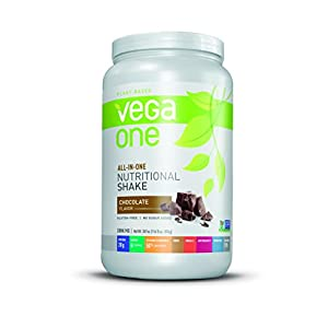 Vega One All-In-One Plant Based Protein Powder, Chocolate, 1.93 lb, 20 Servings