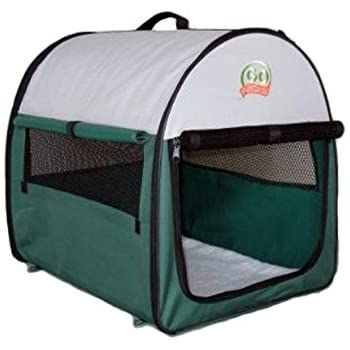 Go Pet Club Soft Dog Crate, 42-Inch, Green