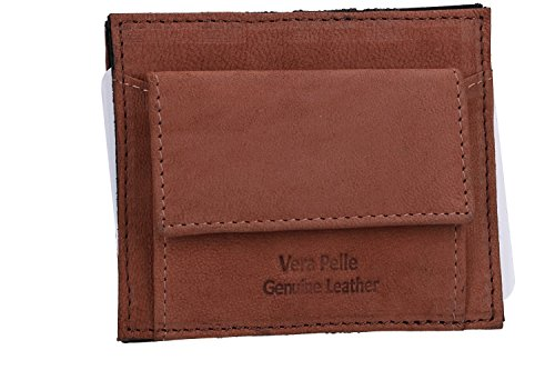 spring VA2267 DI money leather MARE with man brown clip ARMATA Wallet qpzwPv