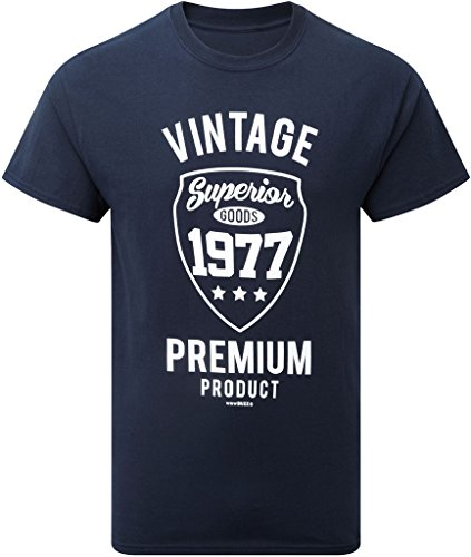 Vintage 1977 Mens 40th Birthday Gift T Shirt