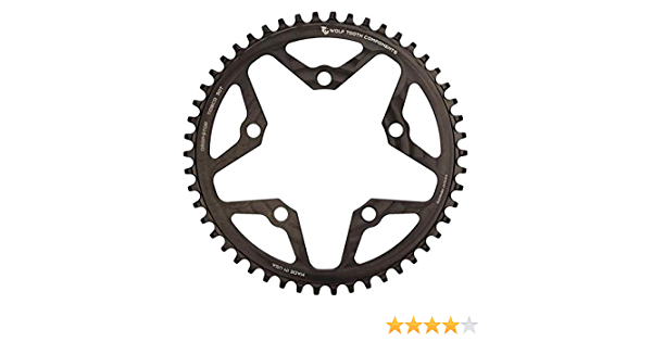 Wolf Tooth Drop Stop Shimano 110BCD 4 bolt 1x Chainring various sizes - New