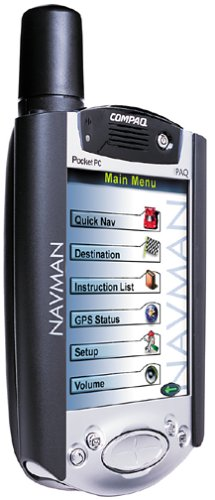 Navman GPS 3420 for iPAQ H3600, H3700 & H3800 series pocket PCs - Pharos Pocket Pc