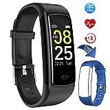 Mgaolo Fitness Tracker,Activity Tracker Smart Watch Montre Intelligente Fit Health Bracelet IP68 Waterproof