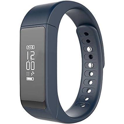 Son Top® Podómetro Actividad tracker Actividad Pulsera Brazalete de fitness deporte reloj Smart Watch i5 Plus con Bluetooth 4.0 pantalla OLED ...