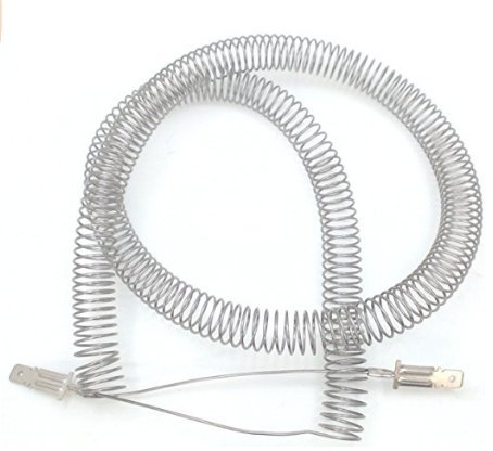 Restring Dryer Heating Element Coil for Frigidaire Electrolux GE Kenmore, Part # 5300622034 PS451032 AP2135128 AH451032 EA451032 (Ge Replacement Coil)