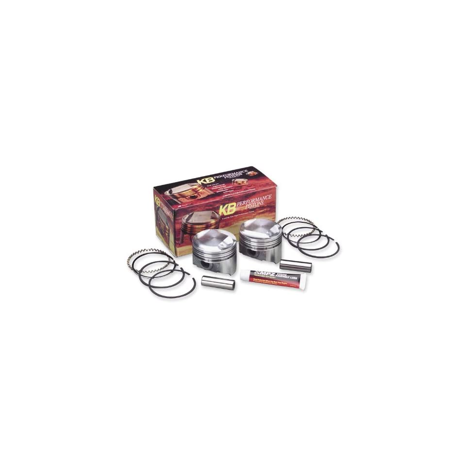 1981 Harley Davidson FXE Super Glide Forged Piston Kit (80ci., Domed)   .005in. Oversize to 3.503in., 9.51 Compression, Manufacturer KB Performance, SHOVEL PISTONS.005 KB 9.5 FORG