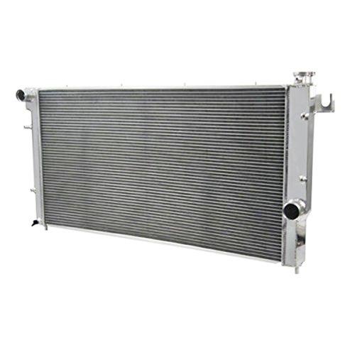 (CoolingCare 4 Row Aluminum Radiator for Dodge Ram 2500 3500 5.9L Turbo Diesel Engine 1994-02)