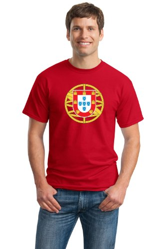 PORTUGUESE COAT OF ARMS Unisex T-shirt / Portugal National Emblem, Flag