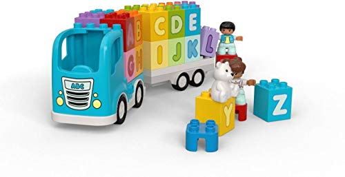 41GNU8RnGKL - LEGO DUPLO My First Alphabet Truck 10915 ABC Letters Learning Toy for Toddlers, Fun Kids' Educational Building Toy, New 2020 (36 Pieces)