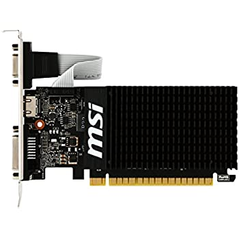 MSI Computer Video Card GT 710 2GD3H LP