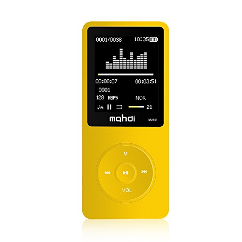 MYMAHDI Mp3 / mp4 Player / Built-in 8GB / Support Micro SD C