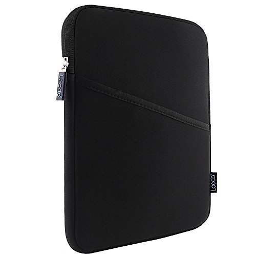 iPad mini Case, iPad mini 4 sleeve, Lacdo Shockproof Tablet Sleeve Compatible iPad Mini 4,3,2 / Samsung Galaxy Tab A 8-Inch/ASUS ZenPad Protective Bag, Black/Black