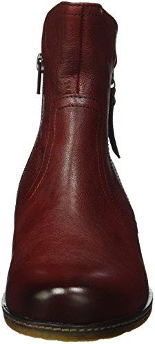 Gabor Shoes Comfort Sport 52.721, Botas Chelsea para Mujer Rojo (dark-red micro)