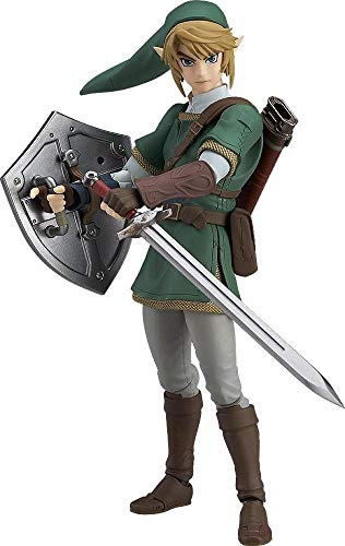 Good Smile The Legend of Zelda Twilight Princess Link (Deluxe Version) Figma Action Figure (Figurine Figma)