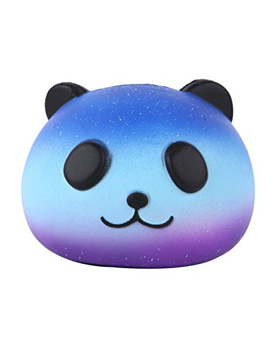 Vigeiya Star Panda Kawaii Cute Squishies Jumbo Slow Rising Soft Cream Scented Toys Squishy Stress Reliever Decompression Kids Adult Gift