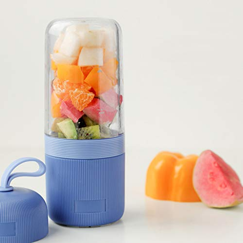 Ouniman Juicer Squeezer Portable Blender, USB Juicer Cup, Fruit, Smoothie, Baby Food Mixing Machine Mini Portable Rechargeable/Juicing Mixing Crush Ice Blender Mixer