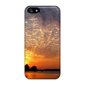Top Quality Case Cover For Iphone 5/5s Case With Nice Sunset Appearance