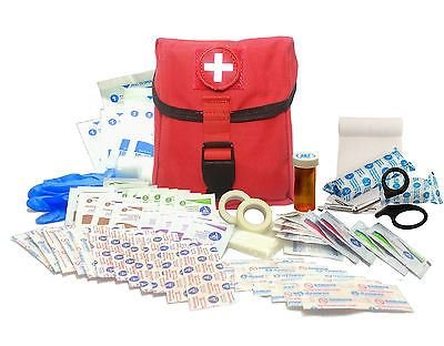 Surplus Provisions New Recruit First Aid Kit - Military IFAK Army Medic - RED - #FA15 by Surplus Provisions (Image #3)