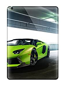 Cleora S. Shelton's Shop Hot 9505539K11534387 Premium 2014 Verde Ithaca Lamborghini Aventador V Roadster Vorsteiner Heavy-duty Protection Case For Ipad Air