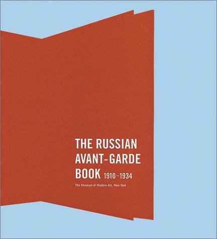 Image of The Russian Avant-Garde Book 1910-1934
