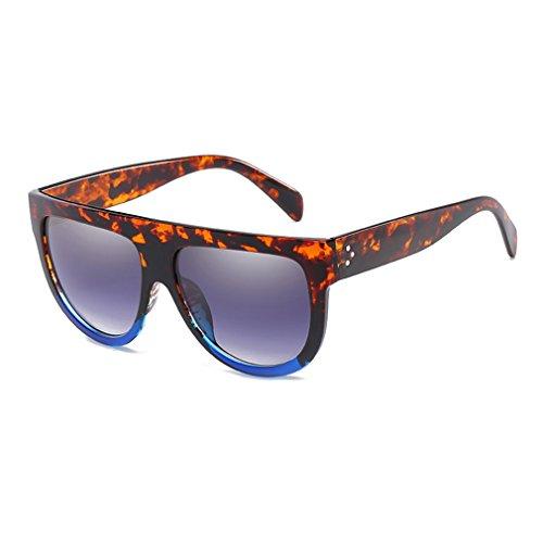 Marco De Personalidad De Señoras De Y Al Gafas Uv 2018 Mujeres Las Para C6 Protección 400 Las Tamaño Moda Libre Conducir Retro Gran Gafas Ideal Gran De Sol Moda Aire O58wncaq