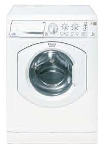 Hotpoint ARXXL 105 Independiente Carga frontal 7kg 1000RPM Color blanco - Lavadora (Independiente, Carga frontal, A, C, Color blanco)