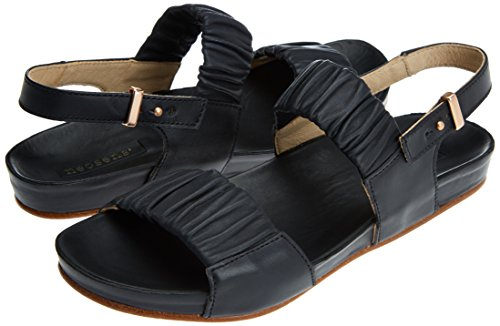 Punta Negro Skin Ebony Con Sandalias Para Abierta ebony Restored S955 Neosens Mujer lairen 6PT0qx