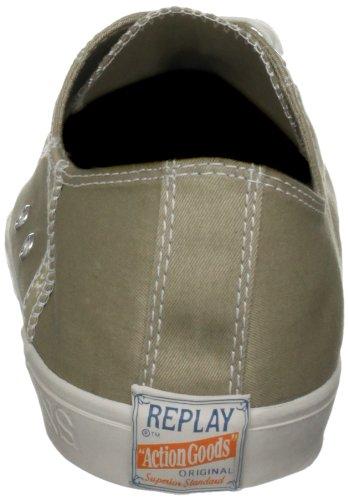 Replay Defoe, Herren Sneaker Beige (Ecru)