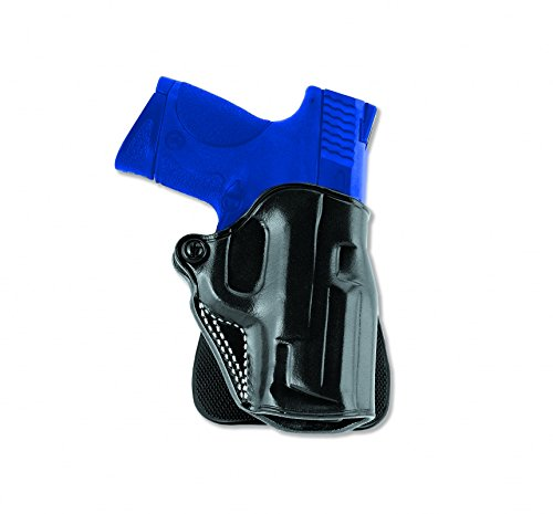 Galco Speed Paddle Holster for S&W K FR 19 2 1/2-Inch (Black, (Galco Paddle Holsters)