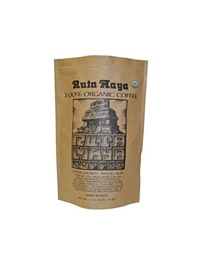 Ruta Maya Organic Dark Roasted Whole Bean Coffee - 5 lb Bag by Ruta Maya