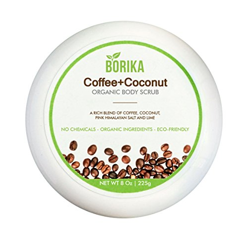 Borika Organic Coffee Face & Body Scrub