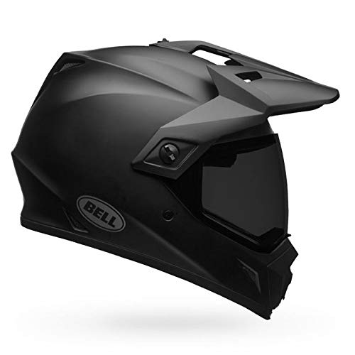 Bell MX-9 Adventure MIPS Full-Face Motorcycle Helmet (Solid Matte Black, Large)