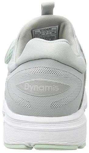 Asics Dynamis, Zapatillas de Entrenamiento para Mujer Multicolor (Mid Grey/glacier Grey/white)