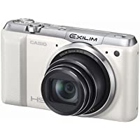 Casio EXILIM High Speed EX-ZR850 EXZR850WE (White) Digital Camera with 16.1 MP with 18x Optical Zoom with WiFi Function Overview Review Image
