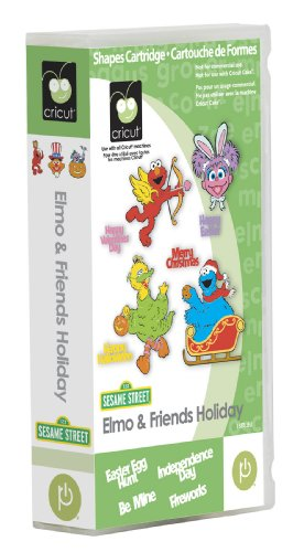 Cricut Elmo and Friends Holiday Cartridge