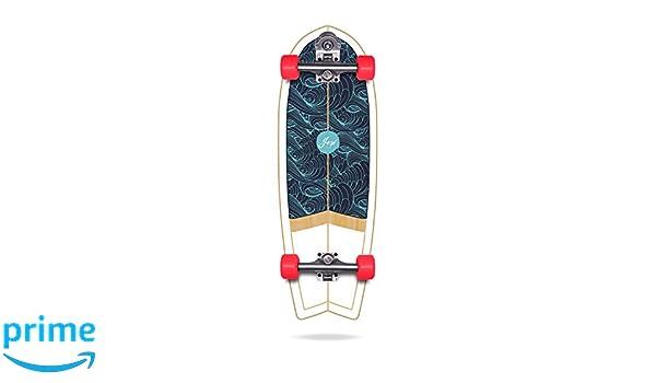 YOW Eisbach 30 Surfskate Completos, Unisex Adulto, Azul, Talla única: Amazon.es: Deportes y aire libre